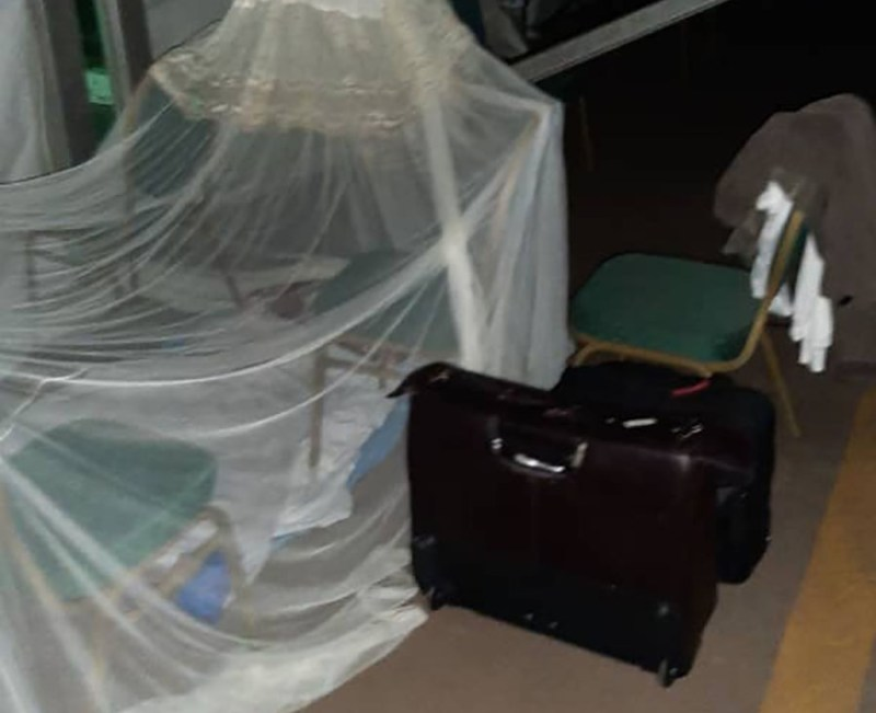Drama As Mp Lyomoki Makes Bed Inside Parliament Over Delayed NSSF Bill