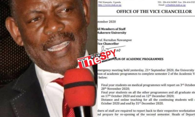 Schools Reopening: Makerere University Announces New Opening Dates For Finalists
