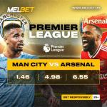 Here Is Your Sure Win! MelBet UG Boosts Winning Chances As It Pump Billions Into Man City, Arsenal Game