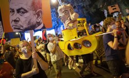 A Thief Can't Lead Us! Furious Protestors Storm Israel Prime Netanyahu's Residence Demanding His Immediate Resignation