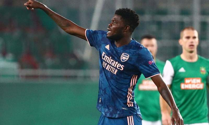 Tactician Thomas Partey Sends Two-Word Message Ahead Of Arsenal,Leicester Battle