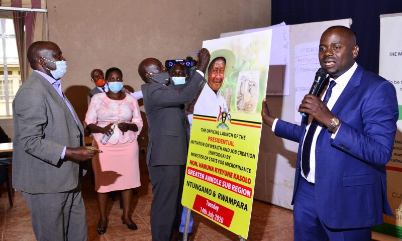 Gov't Boosts Emyooga Presidential Initiative With 30B In Kampala, Wakiso