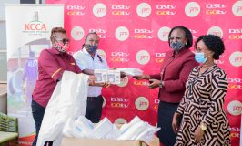 COVID-19: MultiChoice Donates Personal Protective Equipment Worth Shs281M To KCCA, National Task Force