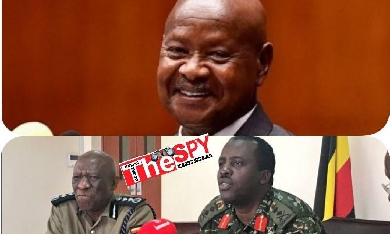 Secrets Why CDF Muhoozi, IGP Ochola Ordered Raid On Bobi's NUP Revealed