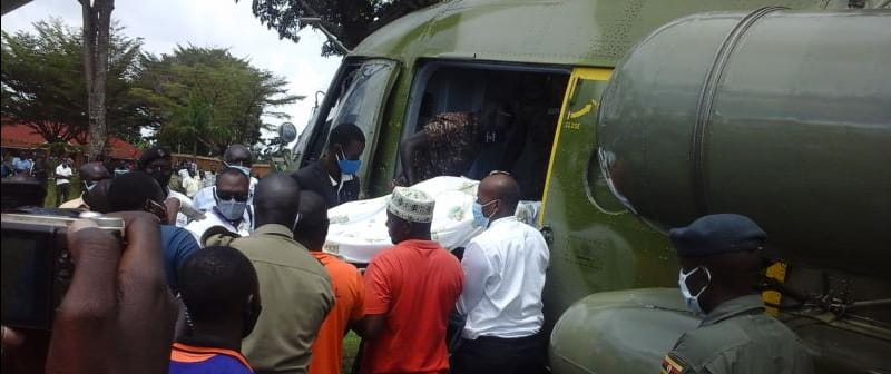 Nasty Accident Survivor Justice Gadenya Airlifted To Nakasero Hospital As Health Detoriates
