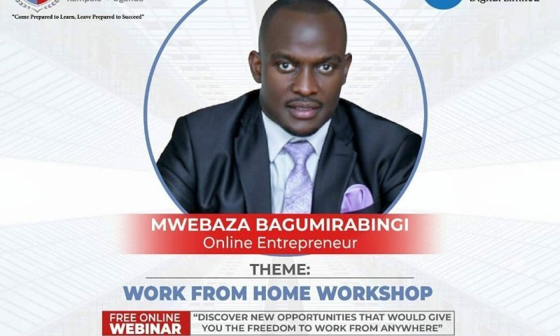 Tireless Victoria University Hosts Entrepreneur Bagumirabingi To Lecture At 'Work From Home Workshop'