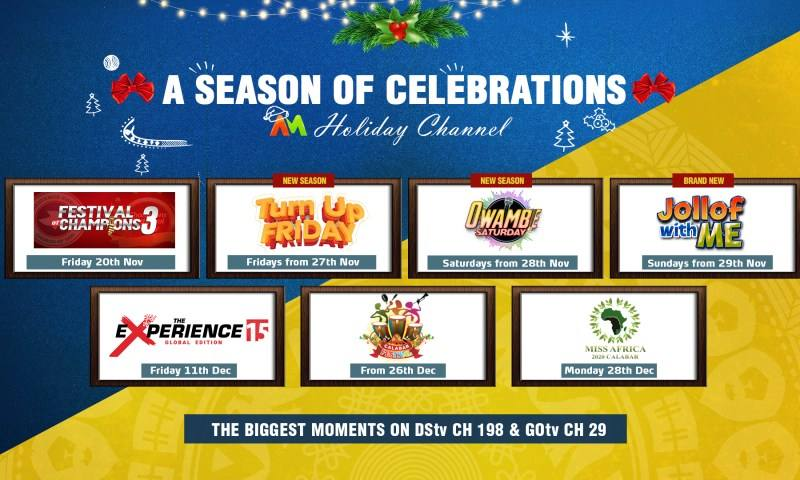 Party-After-Party As MultiChoice Brings SpecialAfrica Magic HolidayPop-up Channel to DStv & GOtv