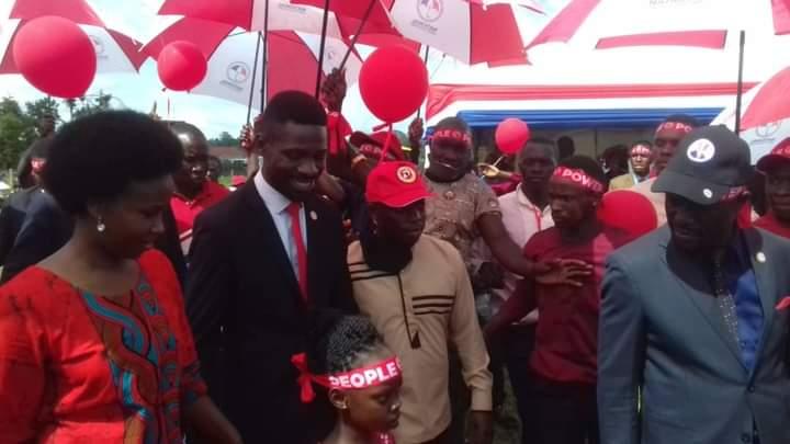 Full Coverage: Police Sweats Plasma As Energetic NUP Supporters Break Kakyeka Gates To Access 'Musinguzi' Kyagulanyi's Manifesto Launch