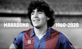 Argentinian Legendary Footballer Diego Maradona Dies At 60
