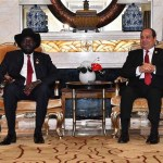 Egypt President Sisi Visits S.Sudan's Kirr, Discuss R.Nile Resources, Ethopian Dam Disputes
