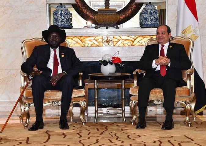 Egypt President Sisi Visits S.Sudan's Kirr, Discuss R.Nile Resources, Ethopian Dam Disputes