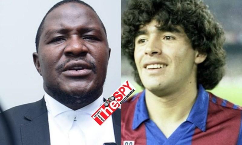 Ugandan Legislator Basalirwa Joins World In Mourning Fallen Football Star Maradona