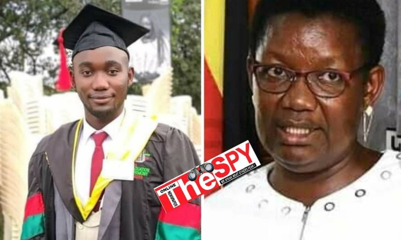Sad: Minister For Presidency Esther Mbayo's Only Son Dies At 26