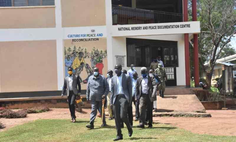 Gen.Salim Saleh Tours National Memory & Peace Documentation Centre