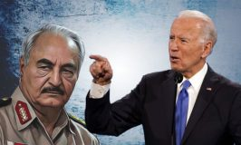 Thirsty For Peace! Libyan Activists Kneel For Biden To Put An End On Deadly Haftar
