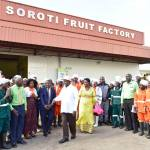 Museveni Commissions Multibillion Soroti Fruit Factory Employing Over 1000 Ugandans