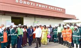 Museveni Commissions Multibillion Soroti Fruit Factory Employing Over 1000 Ugandans