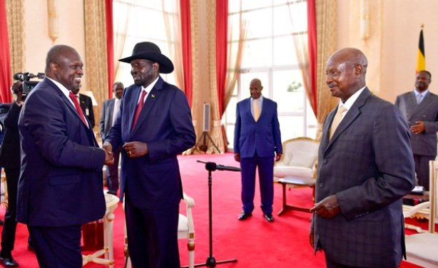 Museveni Cries To US & UK To Support Him Organize S.Sudan Elections To Curb Deadlocks