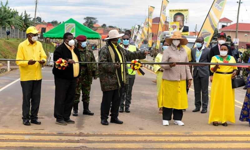 President Museveni Commissions Multibillion Kashenyi-Mitooma & Kitabi Seminary Access Roads