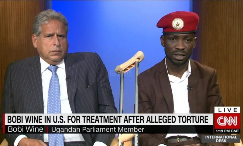 Opio's Arrest: Kyagulanyi's International Lawyer Amsterdam Rushes To US House Of Representatives, Demands Urgent Sanctions Against Top Ugandan Security Officers