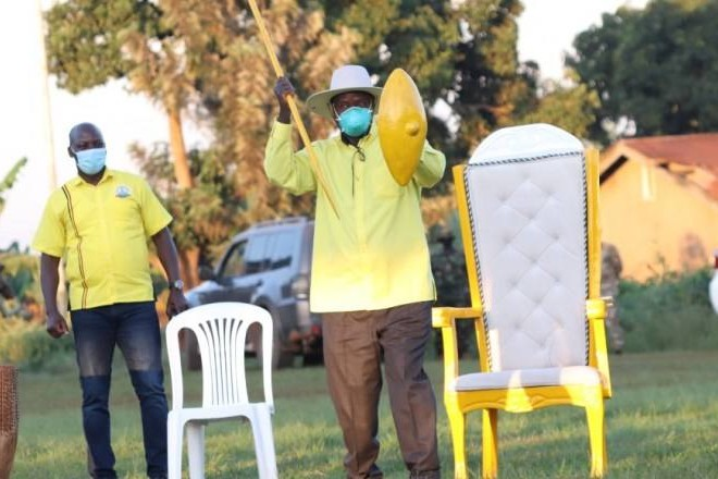"""""""NRM's Achievements Make Me Class Apart From Already Staggering Opposition Candidates""""-Museveni"""