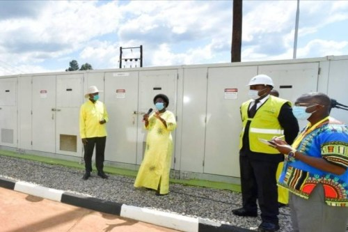 Museveni Commissions Umeme's Multibillion Upgraded Mbale Sub-station
