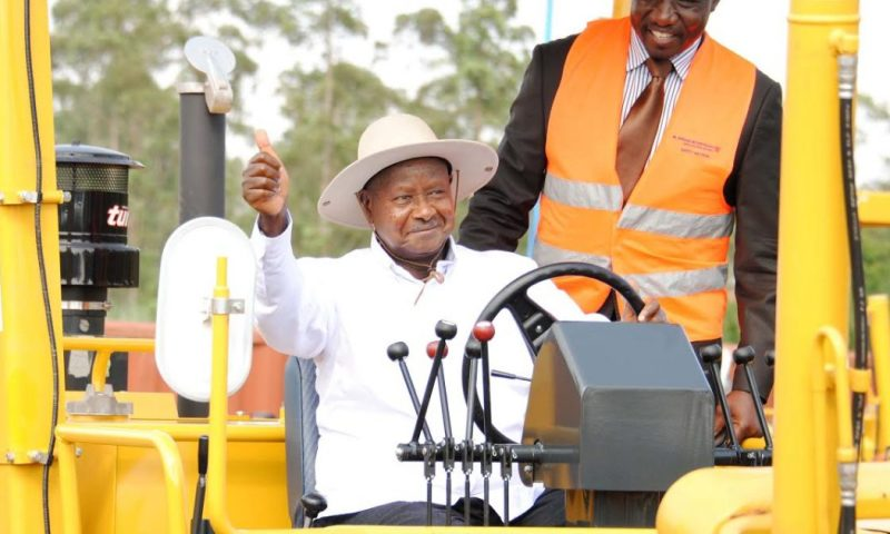 Bobi Wine To Mint Billions As Museveni Commissions Construction Of Busabala Beach Road
