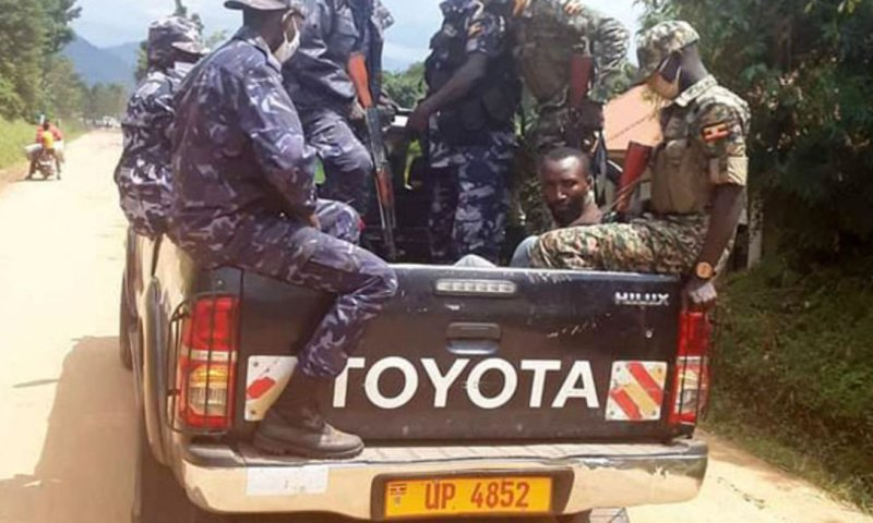 Kyagulanyi's Private Guard Nobert Ariho Arrested Over Teargas Canister