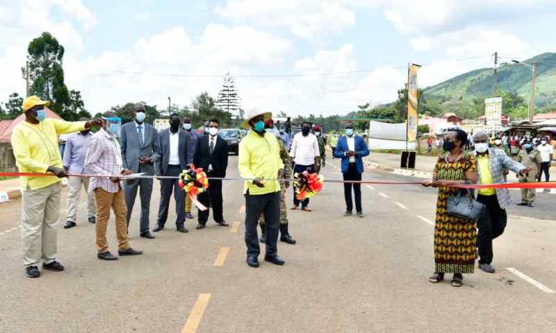 Uganda-Kenya Trade Boosted As Museveni Commissions 44km Multibillion Lwakhakha Road