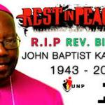 Bishop John Baptist Kaggwa Finally Laid To Rest At Bukalasa Seminary Cemetery