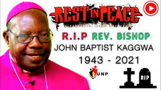 Bishop John Baptist Kaggwa Finally Laid To Rest At Bukalasa Seminary Cemetery