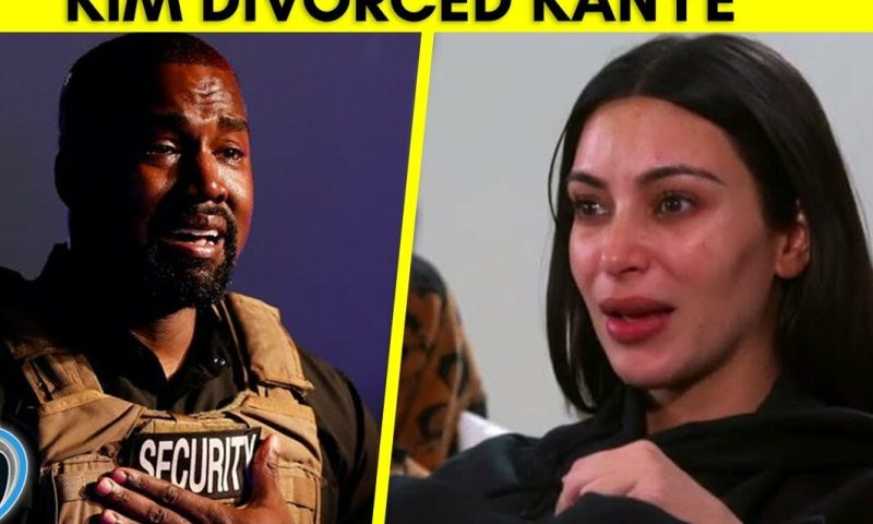 End Of The Road:Kardashian Divorces Mogul Kanye West After 6years Of Chewing His Sprinkler Cassava