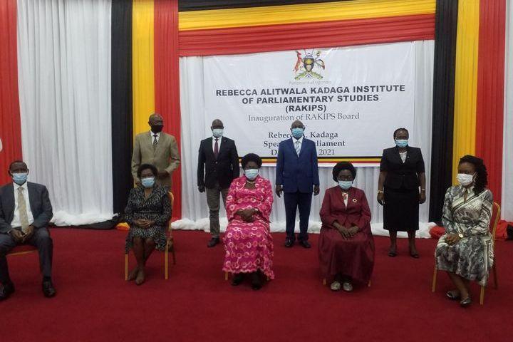 Parliament Unveils Inaugural Board Of Kadaga Institute Of Parliamentary Studies