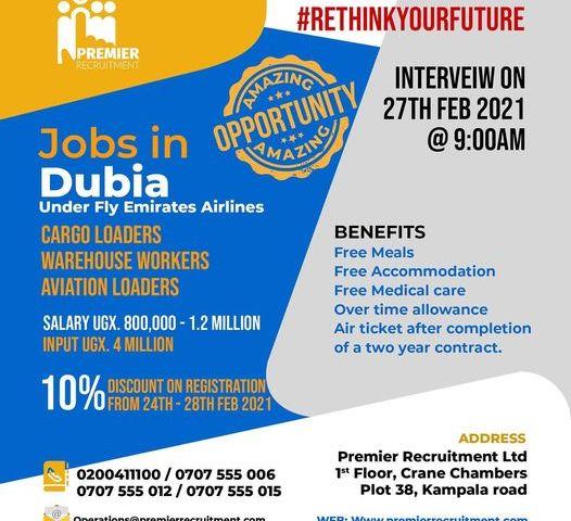 Job Slots: Premier Recruitment Announces 10% Registration Discount For Dubai-Aviation Jobs