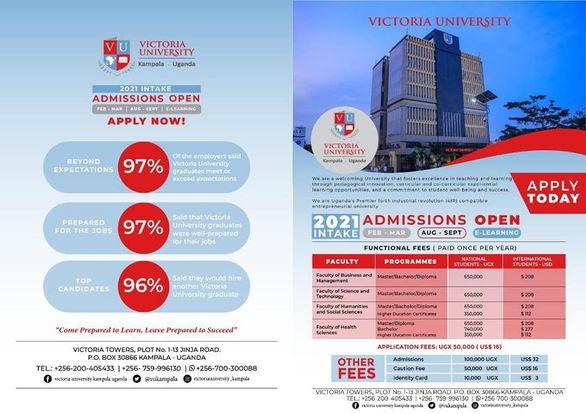 Uganda's Academic Hub Victoria University Unveils Dozens Of Short Courses Meant To Change Your Life