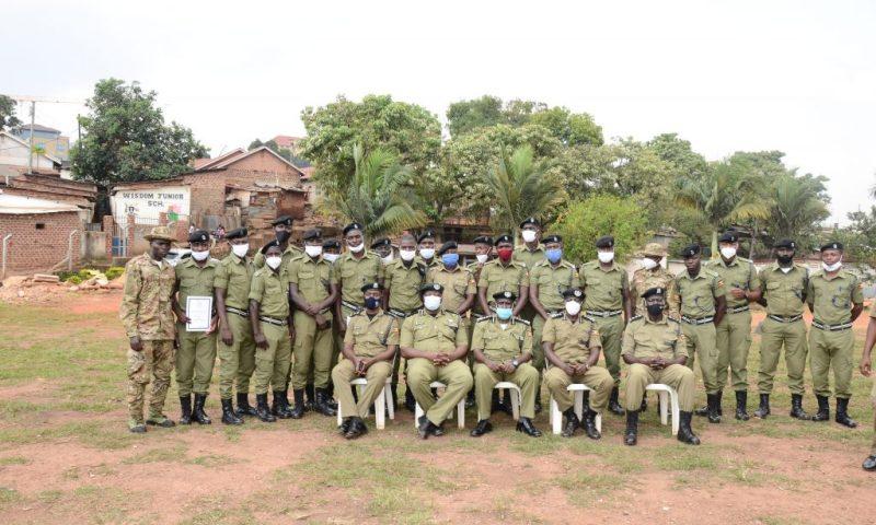 Uganda Police Train 30 Officers, 4 SFC's On Basic K9 Skills To Curb Crimes