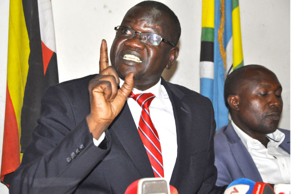 You AreNot Doing Enough To End Museveni's Bloody Regime-FDC's Amuriat Stings European Union