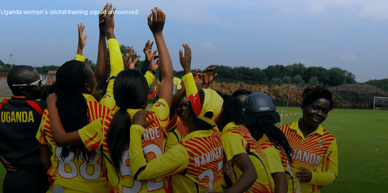 Soccer! Uganda Women's Cricket Training Squad Announced