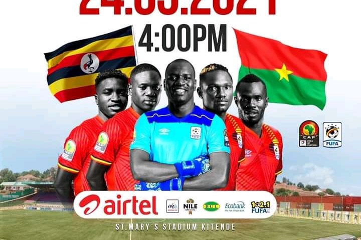 Full Time: Uganda Cranes, Burkina Faso Game Ends In Goalless Draw