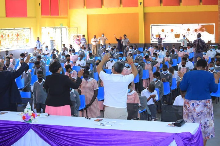 Kampala Parents' School Holds Prayers For P7 Pupils Ahead Of PLE Exams