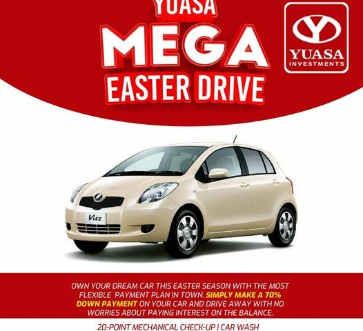 Easter Bonanza! YUASA Investments Ltd Parades Swanky Monster Rides At Crazy Prices