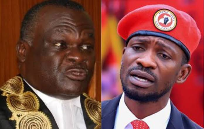 You're Such A Serial 'Constitution Rapist' Uganda Has Ever Had! Disappointed Bobi Blasts CJ Dollo Over Misconduct In Presidential Case