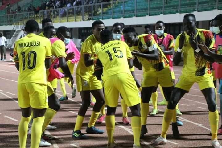 Celebrations: Uganda Hippos Register History Of Entering AFCON Finals, Smashes Tunisia To Ash