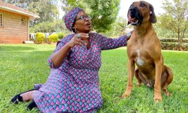 Stella Nyanzi Drops Lover Boy After Irreconcilable Differences, Now Replaces Him With Dog!