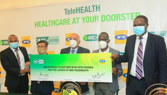 MTN Uganda, IMG Ink Juicy Deal Meant To Provide Telemedicine Services