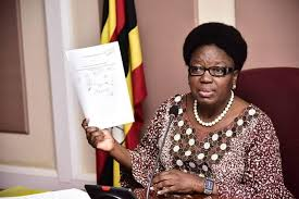 Speaker Kadaga Runs To UCC Over Leaked Extravagant Travel Expenses, Wants Journalist's 'Balls' Roasted For 'Stealing' Her Information!