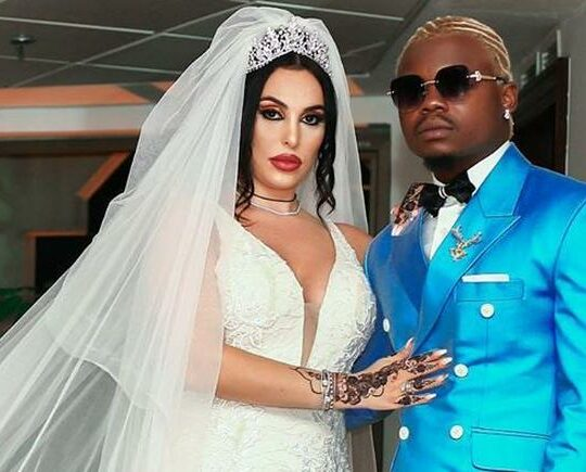 I Only Bonked Her For Money Not Permanent Marriage: Singer Harmonize Drops Italian Wife, Files For Divorce