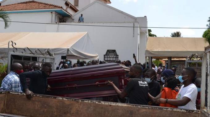Abomination! Lawyer Kasango's Body Torn Into Pieces In Church Amidst Bloody Fights Between Families