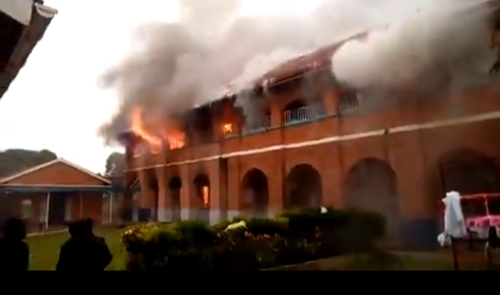 Breaking: King's College Budo On Fire Again!