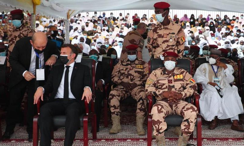 Chad Bids Farewell To Deby As France Deploys War Jets To Protect His Son